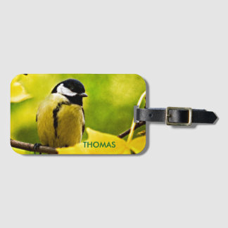 Tomtit - Dressed To The Season Luggage Tag