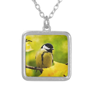 Tomtit - Dressed To The Season Silver Plated Necklace