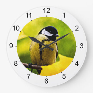 Tomtit - Dressed To The Season Wall Clock