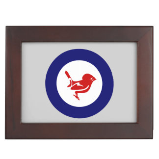 Tomtit roundel | New Zealand Bird Memory Box