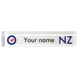 Tomtit roundel | New Zealand Bird Nameplate