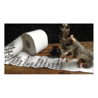 ton of DO cunning mouse.jpg Pack Of Standard Business Cards