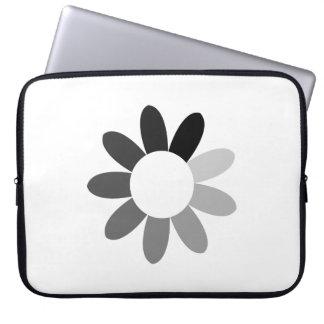 Tonal Flower Laptop Computer Sleeves