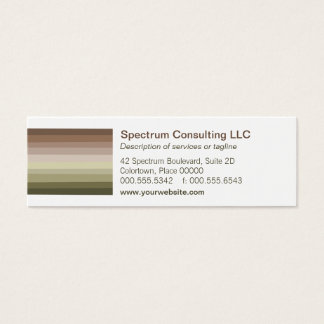 Tonal Spectrum Business Card