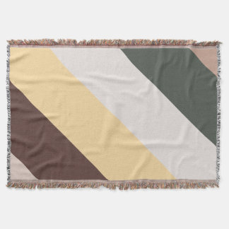 Tones of Autumn Throw Blanket