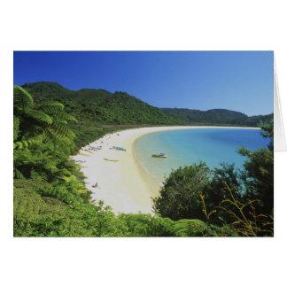 Tonga Bay, Abel Tasman NP, South Island, New Card