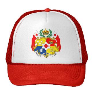 Tonga Coat of Arms detail Cap