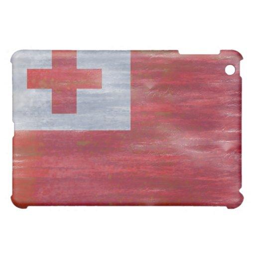 Tonga distressed Tongan flag iPad Mini Cases