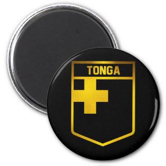 Tonga Emblem 6 Cm Round Magnet