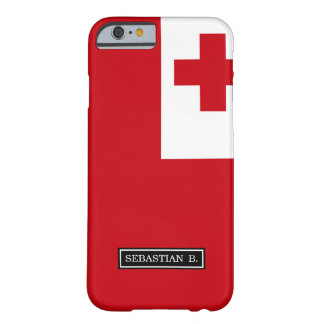 Tonga Flag Barely There iPhone 6 Case