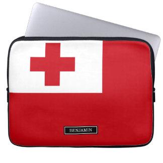 Tonga Flag Computer Sleeves