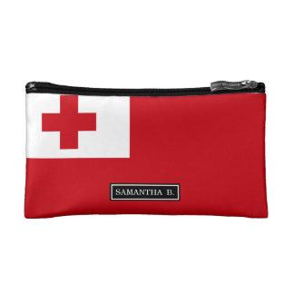 Tonga Flag Cosmetic Bags