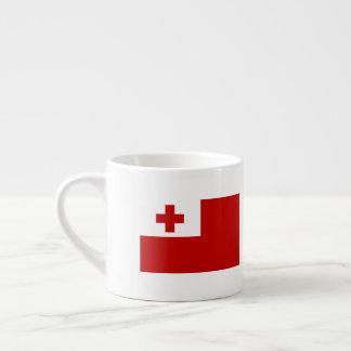 Tonga Flag Espresso Cup