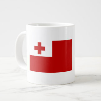 Tonga Flag Large Coffee Mug