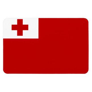 Tonga Flag Rectangular Photo Magnet