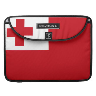 Tonga Flag Sleeves For MacBooks