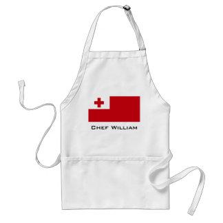Tonga Flag Standard Apron