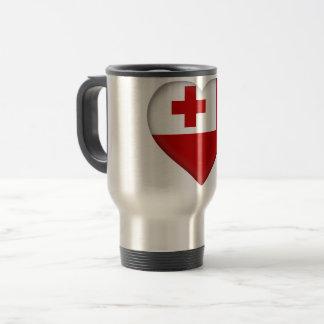 Tonga Flag Travel Mug