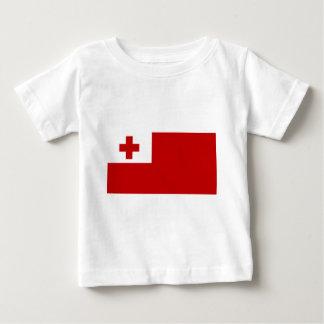 Tonga Island Flag Red Cross Baby T-Shirt