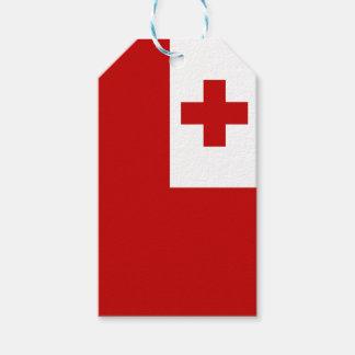 Tonga Island Flag Red Cross Gift Tags