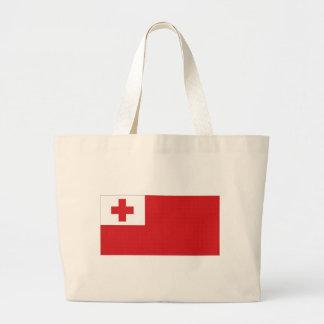 Tonga National Flag Tote Bags