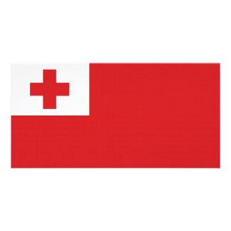 Tonga National Flag Photo Cards