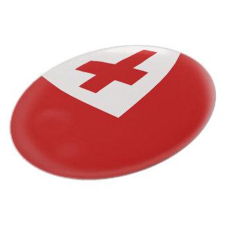 Tonga Tongan Flag Plate