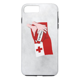Tongan Flag Rugby Team Supporters iPhone 7 Plus Case