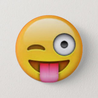 Tongue Emoji Pin