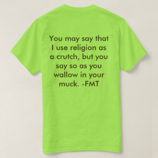 Tongue-in-Cheek Christianity T-Shirt