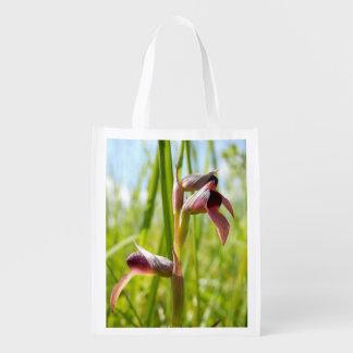Tongue Orchid Reusable Bag