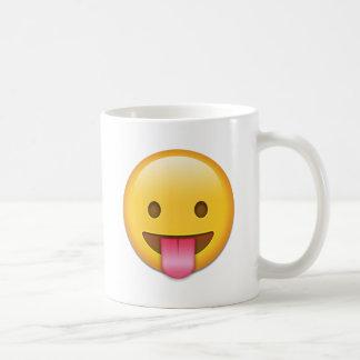Tongue-Out Cheeky Emoji Coffee Mug