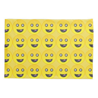 Tongue out emoji pillowcase