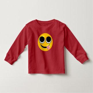 Tongue Out Emoji Toddler T-Shirt