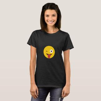 Tongue Poke Smiley T-Shirt