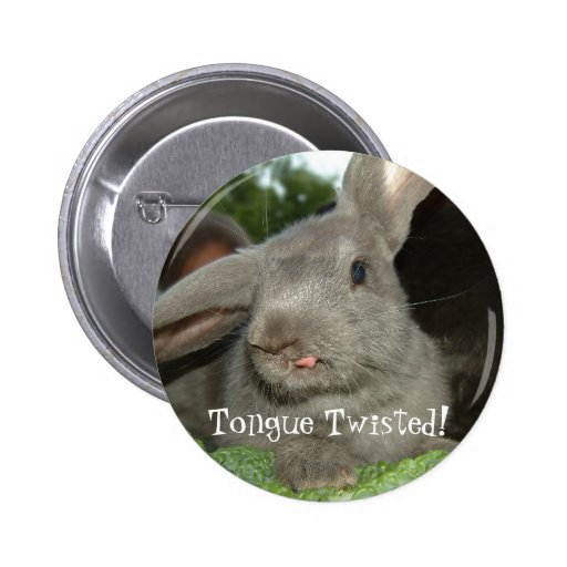 Tongue Twisted! Button
