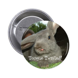 Tongue Twisted Button