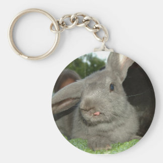 Tongue Twisted Rabbit| Keychain