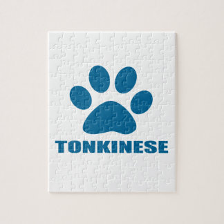 TONKINESE CAT DESIGNS JIGSAW PUZZLE
