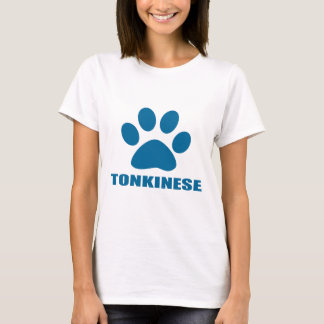 TONKINESE CAT DESIGNS T-Shirt