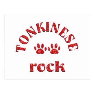 Tonkinese Rock Postcard