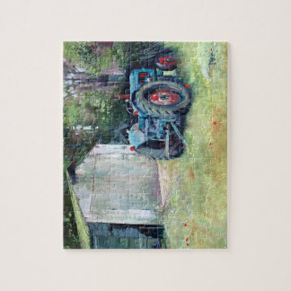 Tonkinson puzzle - T ` old motor tractor