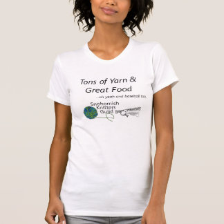 Tons of Yarn Stitch 'n Pitch T Shirts