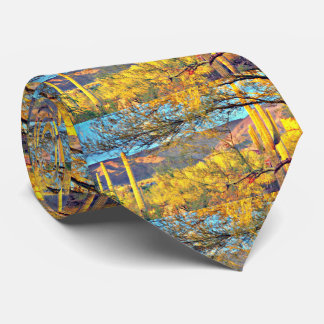 Tonto Mountains in Orion Men's Tie