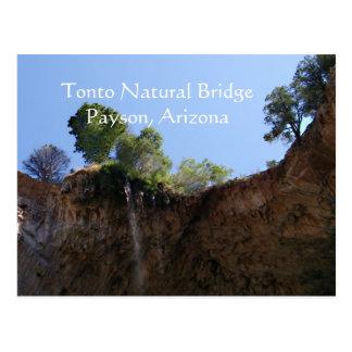 Tonto Natural Bridge Payson, Arizona Postcard