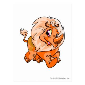 Tonu Orange Postcard