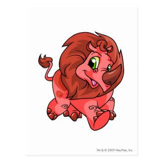 Tonu Red Postcard