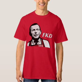 "Tony Abbott ""FKD"" Red T-Shirt"
