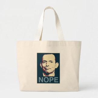 Tony Abbott Jumbo Tote Bag