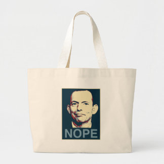 Tony Abbott Large Tote Bag